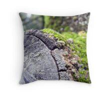 Where the fairies sit :) Throw Pillow