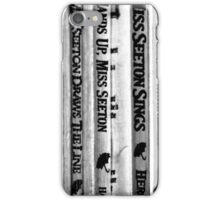 Mystery. iPhone Case/Skin