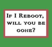 If I Reboot by Marc Grossberg