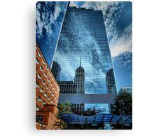 Mirrored Minneapolis Canvas Print