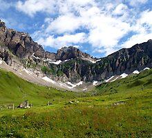 Mountain Bowl - Blackenalp, Switzerland by Luke Prudence