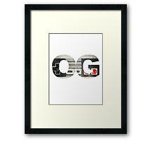 OG - Gaming Framed Print
