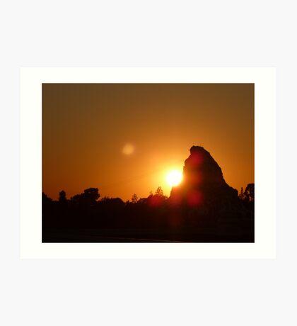 Matterhorn at Sunset Art Print