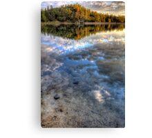 Sky Water Canvas Print