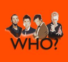 Who? Kids Tee