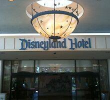 Disneyland Hotel Entrance by Tomreagan