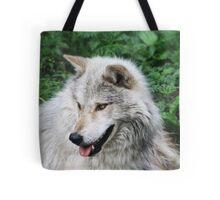 Grisham the Gray Wolf Tote Bag