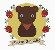 Un-Bear-Ably Cute! One Piece - Short Sleeve