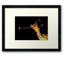 Seadragon Portrait Framed Print