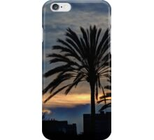 Palm Tree Sunset iPhone Case/Skin