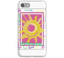 Summer graphic print iPhone Case/Skin