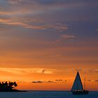 Sunset over 'The keys' day 2 by Steve Unwin