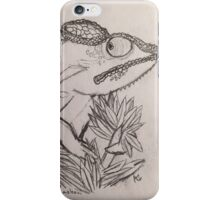 Panther Chameleon Sketch iPhone Case/Skin