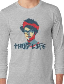 It Crowd Inspired - Moss & the Thug Life - Nerd Goes Gangsta - Flippin Awesome Moss Long Sleeve T-Shirt