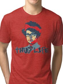 It Crowd Inspired - Moss & the Thug Life - Nerd Goes Gangsta - Flippin Awesome Moss Tri-blend T-Shirt