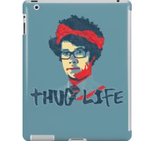 It Crowd Inspired - Moss & the Thug Life - Nerd Goes Gangsta - Flippin Awesome Moss iPad Case/Skin