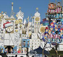 Disneyland's it's a small world Holiday by Tomreagan