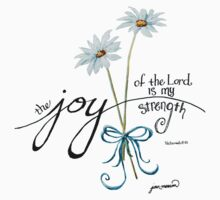 The Joy of the Lord is my Strength outline by Jan Marvin by Jan Marvin