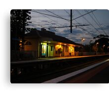 Collingwood Train Station Canvas Print