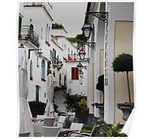 Resturant, Minora,Italy Poster