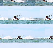 Kite boarding compilation by Jeff Harris