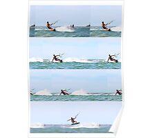 Kite boarding compilation Poster