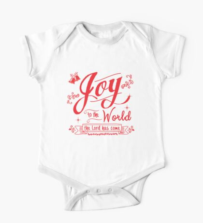 Joy to the World graphic by Jan Marvin One Piece - Short Sleeve