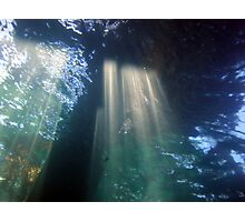Underwater Sunlight Photographic Print
