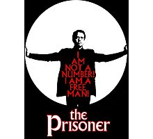 The Prisoner - I AM NOT A NUMBER! Photographic Print