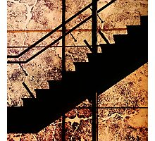 Stairing Photographic Print