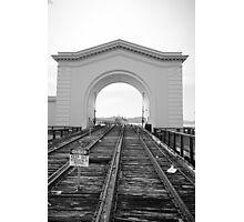 Rails to Nowhere  Photographic Print