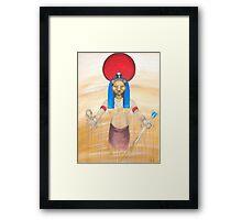 SEKHMET FIRE GODDESS Framed Print