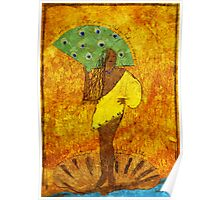 Oshun, Santeria Goddess of Love Poster