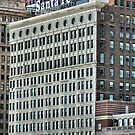 Santa Fe Building, Chicago, Daniel Burnham by Crystal Clyburn