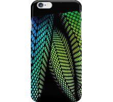 black mini skirt fun fishnets iPhone Case/Skin
