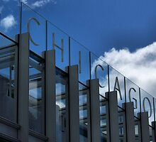 Sign, Art Institute of Chicago Modern Wing, Chicago, Renzo Piano by Crystal Clyburn