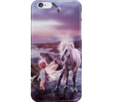 The Sea Fairy and The Sea Horse iPhone Case/Skin