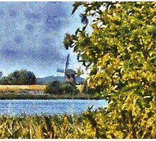 Mill of Doel - Belgium Photographic Print