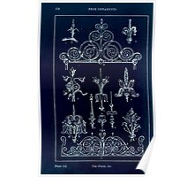 A Handbook Of Ornament With Three Hundred Plates Franz Sales Meyer 1896 0194 Free Ornaments Finial Inverted Poster