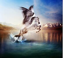The Ancients: Pegasus by gingerkelly