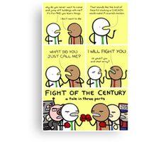 antics #98 - fight of the century: part 1 Canvas Print