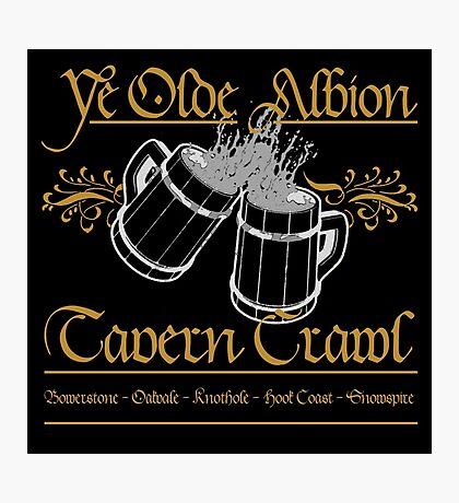 Fable - Albion Tavern Crawl Photographic Print