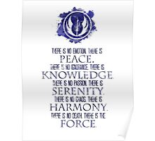 The Jedi Code Poster