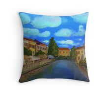 isle sur la Sorgue - Provence Throw Pillow