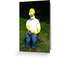 """""""D'oh! Fetch Me Another Beer Marge """" Greeting Card"""