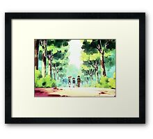 Ash and Friends! Framed Print