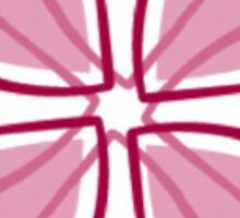 Sigma Kappa Hearts United Sticker