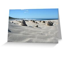 Sand sculptures Greeting Card