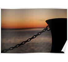 chain me never. port albert - victoria Poster