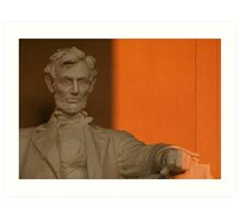 Abe in the Morning Art Print